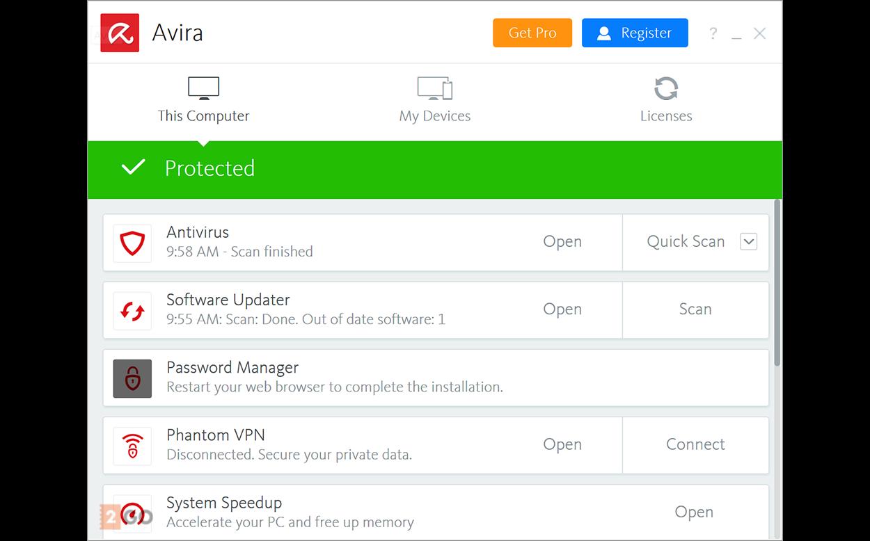 Avira Antivirus Pro 1.1.47.17265 Crack Full Activation Code Download
