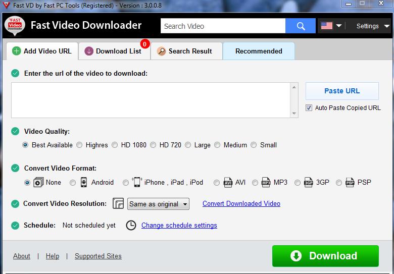 Fast Video Downloader 4.0.0.0 Crack With Registration Key Download