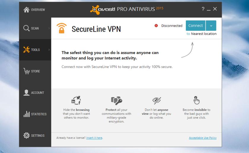 Avast SecureLine VPN 5.6.4 Crack With License Key Download [2021]