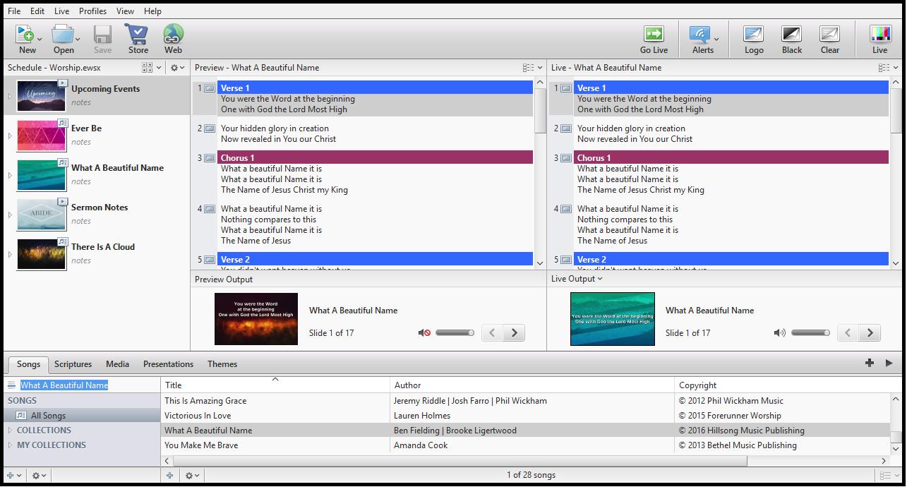EasyWorship 7.2.3.0 Crack With License Key Full Download [2021]
