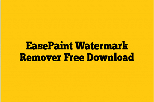 EasePaint Watermark Remover 2.0.9.0 With Crack